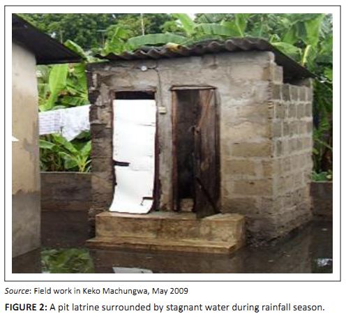 Effects of heavy rainfall on human settlement